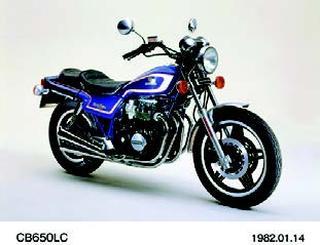 ホンダ CB650LC 1982 年1月