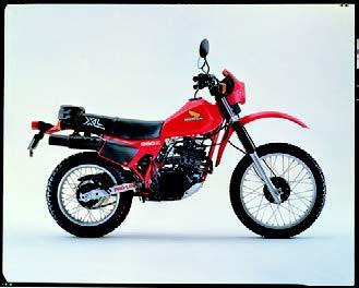Images : ホンダ XL250R 1981年11月