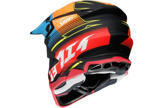 画像2: カタカナ「ショウエイ」と多彩な色使いが決め手!SHOEIのオフロードヘルメット〈VFX-WR〉にパンチの効いた限定モデルが登場