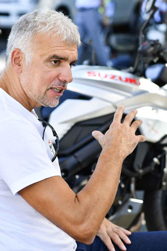 画像6: 新型KATANAのデザイナー、フラスコーリさんに突撃取材! カタナというバイクの印象、そしてアップハンドルについても聞いてみた!