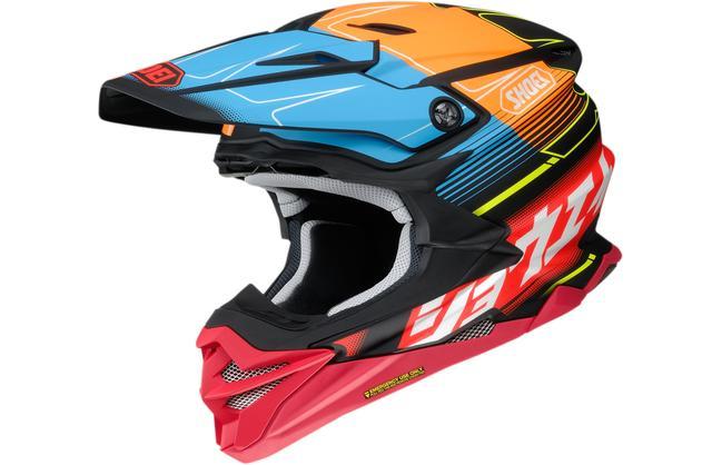画像3: カタカナ「ショウエイ」と多彩な色使いが決め手!SHOEIのオフロードヘルメット〈VFX-WR〉にパンチの効いた限定モデルが登場