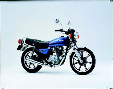 Images : カワサキ Z250FS 1982 年1月