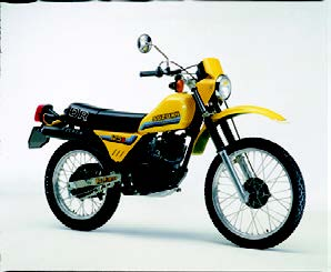 Images : スズキ DR125S 1982 年 3月