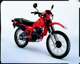 ホンダ XL125R 1982 年 3月