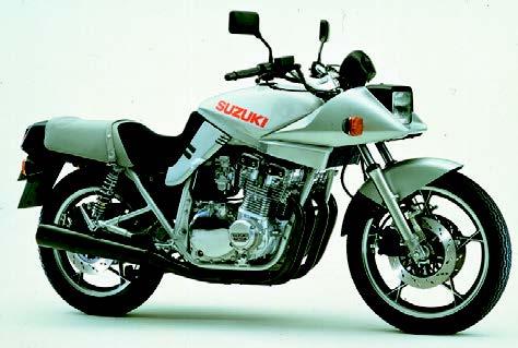 Images : スズキ GSX750S 1982 年2月