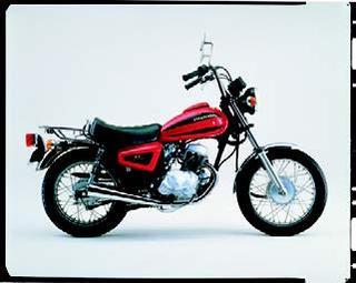 ホンダ CB125Tカスタム/マスター 1982 年1月