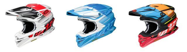 画像4: カタカナ「ショウエイ」と多彩な色使いが決め手!SHOEIのオフロードヘルメット〈VFX-WR〉にパンチの効いた限定モデルが登場