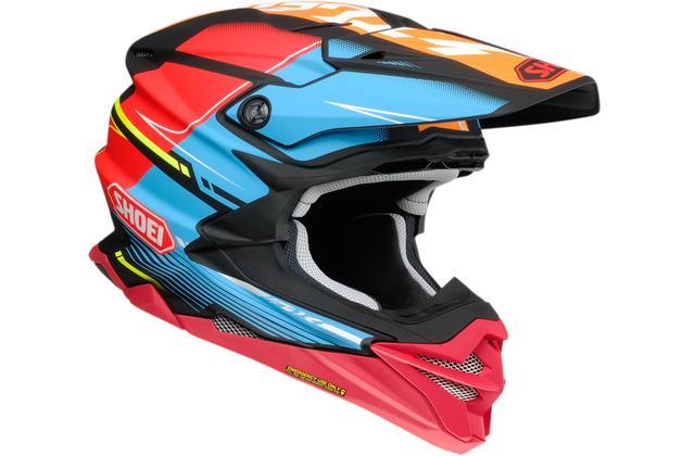 画像1: カタカナ「ショウエイ」と多彩な色使いが決め手!SHOEIのオフロードヘルメット〈VFX-WR〉にパンチの効いた限定モデルが登場