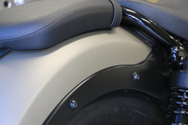 画像1: レブルのリアフェンダーに装着されているボルトを替えるという手も