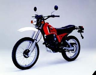 ヤマハ XT125 1982 年 3月