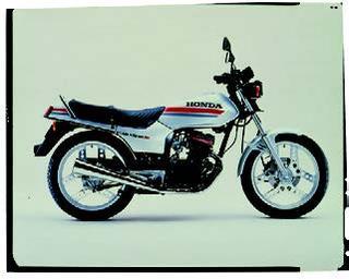 ホンダ CB125T 1982 年 5月