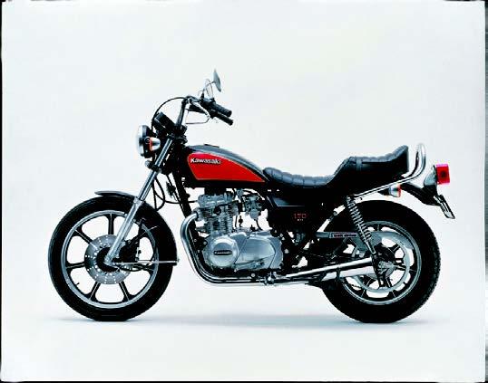 Images : カワサキ Z400LTDベルトドライブ 1982 年11月
