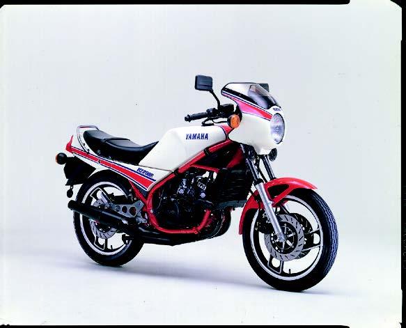 Images : ヤマハ RZ250R 1983 年2月