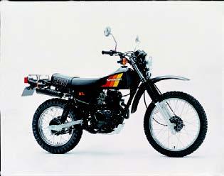 Images : カワサキ KL250 1982 年11月