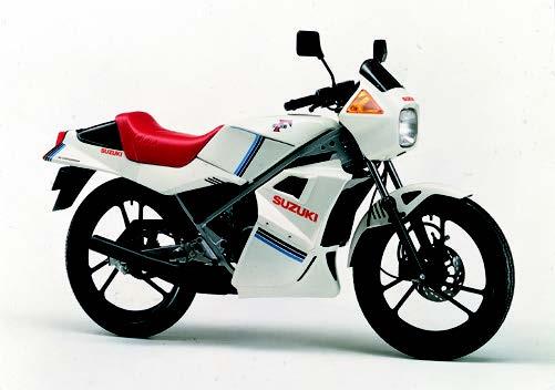 Images : スズキ RG50Γ 1982 年12月