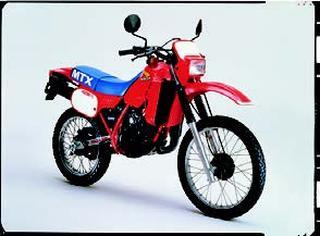 ホンダ MTX125R 1982 年11月