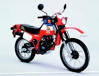 ホンダ XL125R パリ・ダカール 1983 年 3月