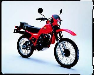 ホンダ XL200R 1982 年10月