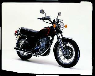 Images : ヤマハ SR400 1982 年 9月