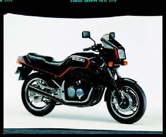 Images : スズキ GSX400FW 1983 年 3月
