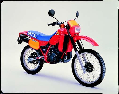 Images : ホンダ MTX200R 1983 年2月