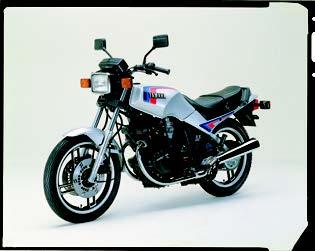 Images : ヤマハ XS400 1983 年2月