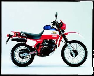 ホンダ XL250R パリ・ダカール 1982 年7月
