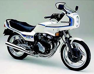 ホンダ CBX550Fインテグラ 1982 年10月