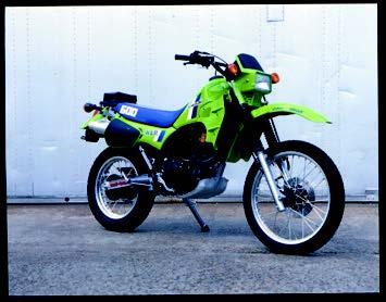 Images : カワサキ KL600R 1984 年2月