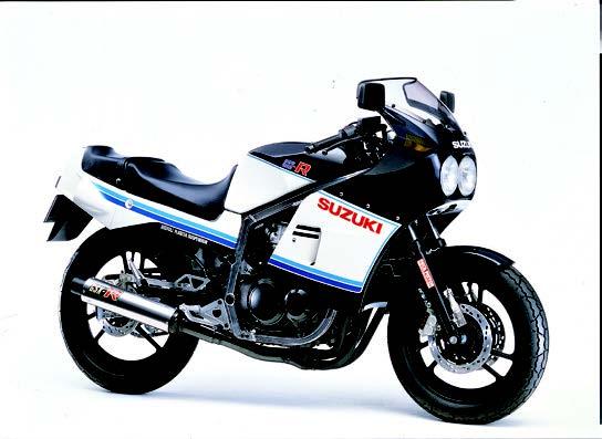 Images : スズキ GSX-R 1984 年2月