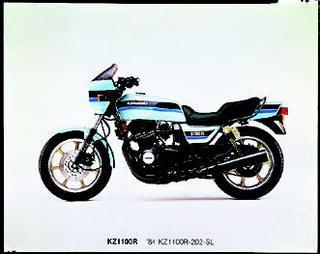 カワサキ Z1100R 1984 年