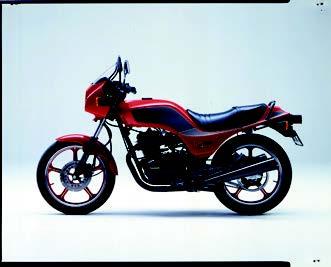 Images : カワサキ GPz250 1984 年2月