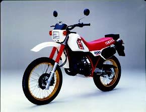 Images : ヤマハ DT200R 1984 年 3月