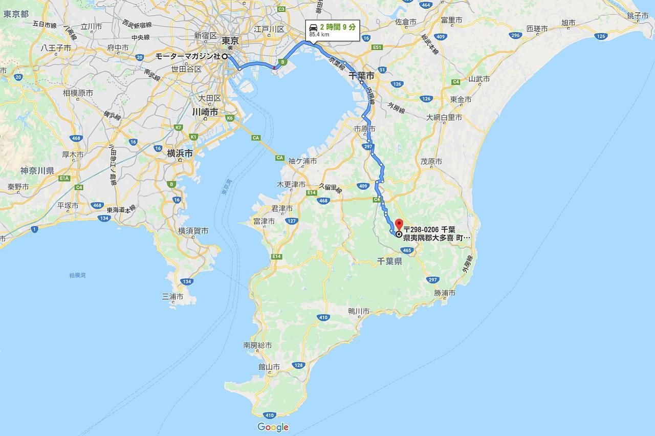画像: @Google MAP