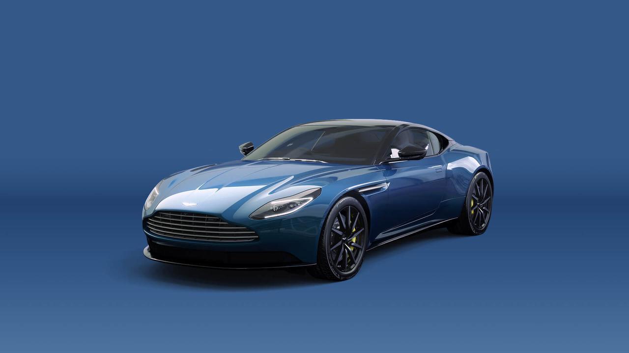 画像: これはアストンマーティンの現行モデル「DB11」。こうして見ると、AMB001もこのデザインの流れを汲んでいることがわかります。 www.astonmartin.com