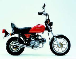 カワサキ AV50 1983 年11月