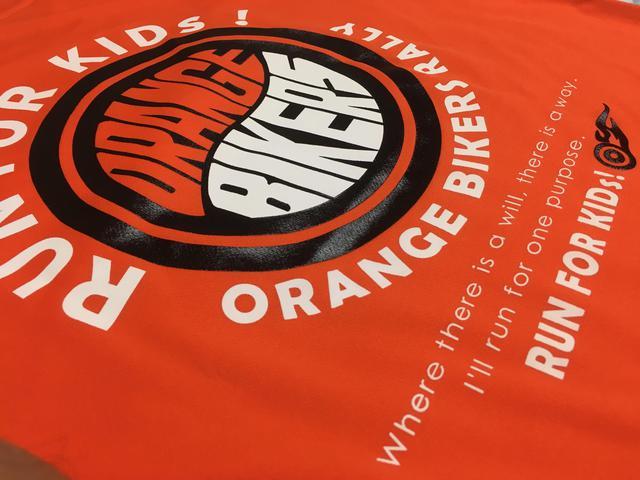 画像: このシャツ着てるひと、オレンジバイカー