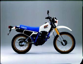 Images : ヤマハ XT200 1984 年1月