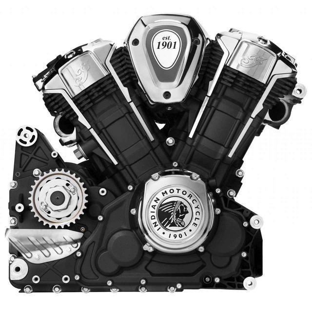 画像: 新設計Vツインエンジン「PowerPlus」(108キュービックインチ/1768cc、60度Vツイン)