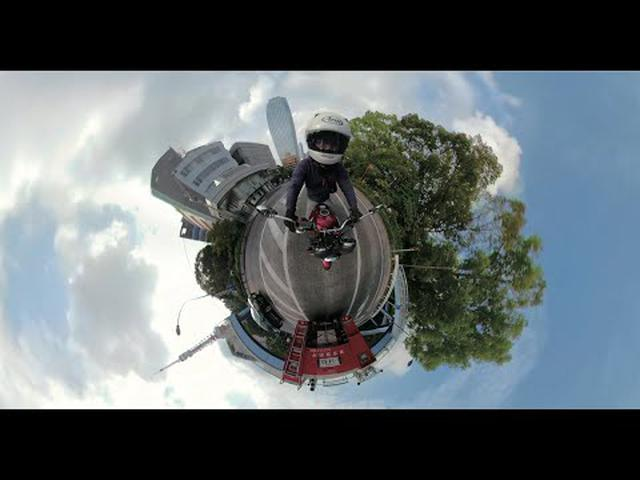 画像: CB400SFに360度カメラ「GoPro Fusion」を取り付けて走ってみた! youtu.be