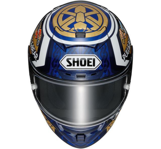 画像: マルケスの日本グランプリ仕様が登場!【SHOEI】レーシングフルフェイスヘルメットX-Fourteen〈MARQUEZ MOTEGI3〉 - webオートバイ