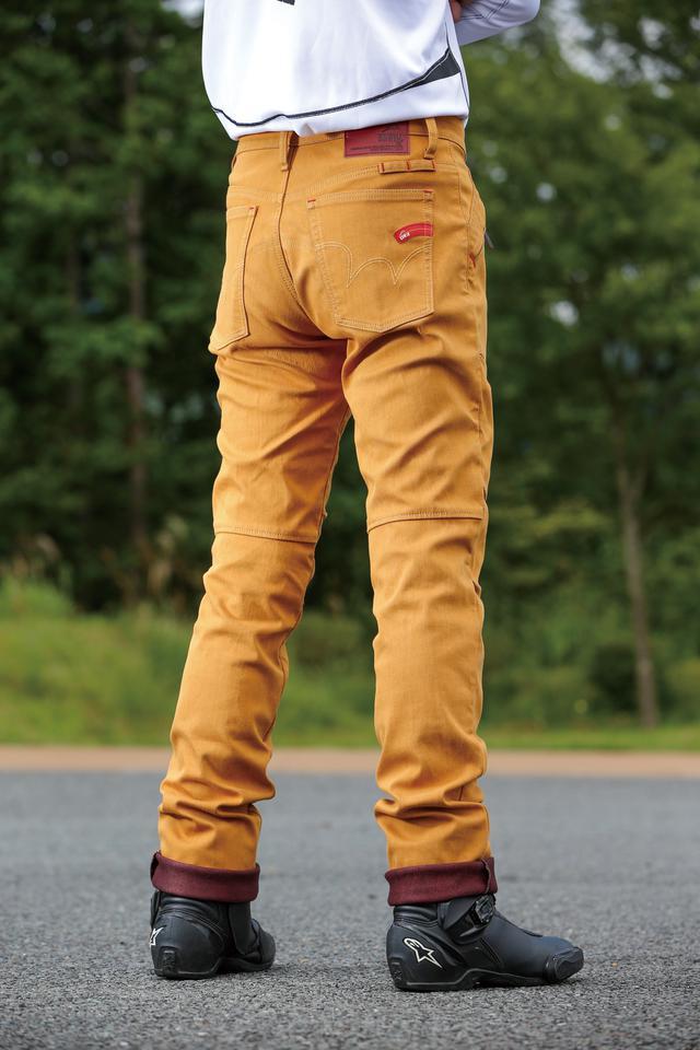 画像: KUSHITANI×EDWINの防風パンツは、暖かさと見た目の良さを両立