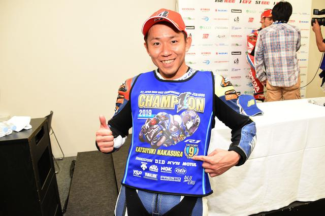 画像: 中須賀のJSBチャンピオンは2008~09年、12年から5連覇、18年から19年の2連覇と、計9回目! 「来年も全日本を引っ張っていくように頑張ります!」(中須賀) 目指せV10!