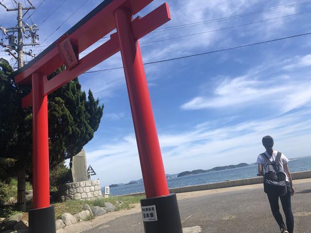 画像1: 続いて【羽豆岬】へ