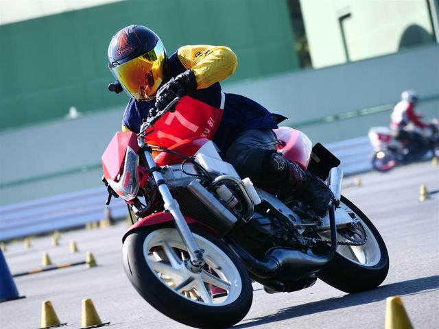 画像: A級6位・大川彰人選手&NSR250R