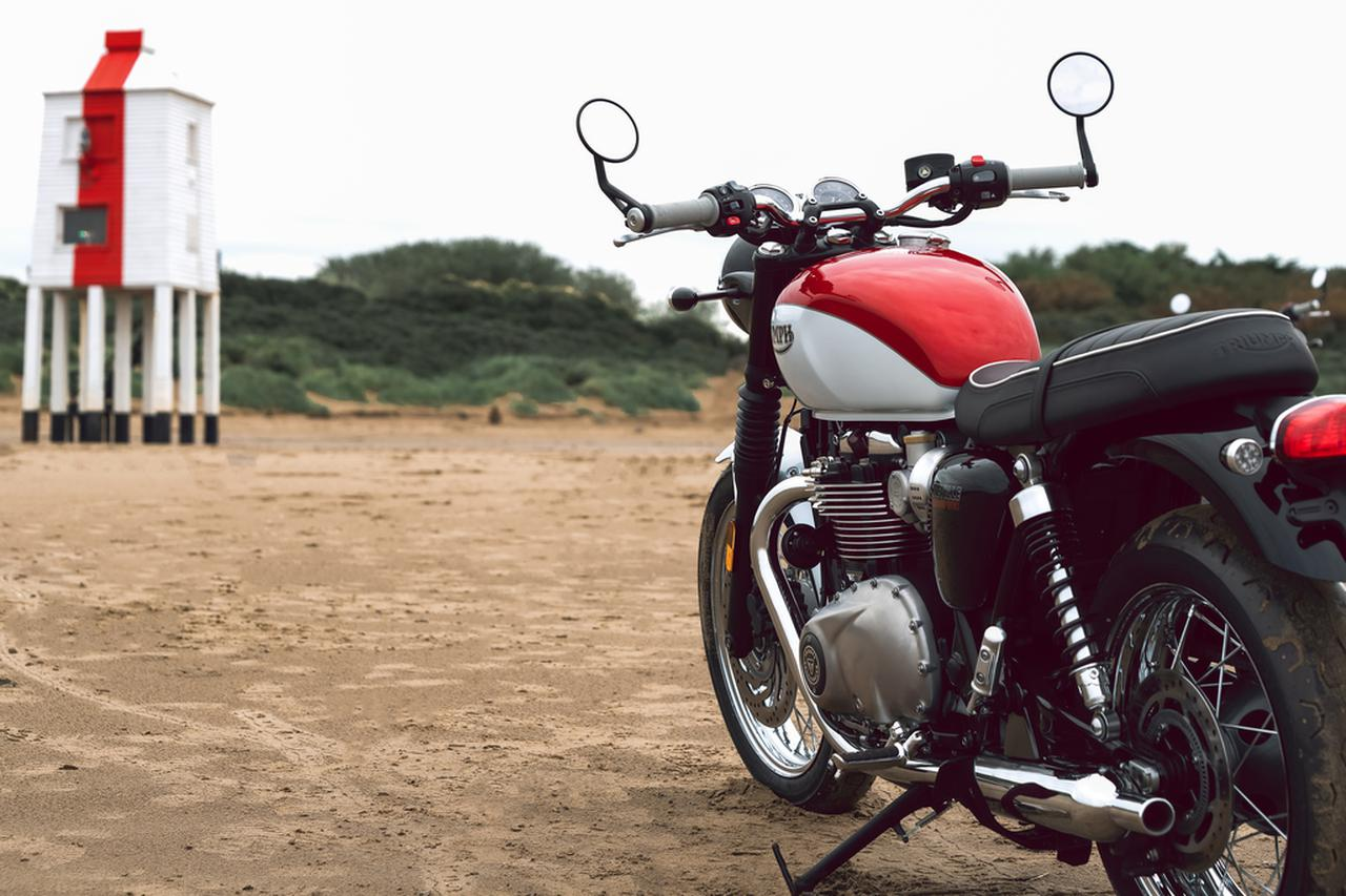 Images : 3番目の画像 - 「Bud Ekins Bonneville T120」の写真をもっと見る! - webオートバイ