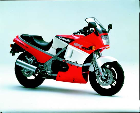 Images : カワサキ GPZ400R 1985 年2月