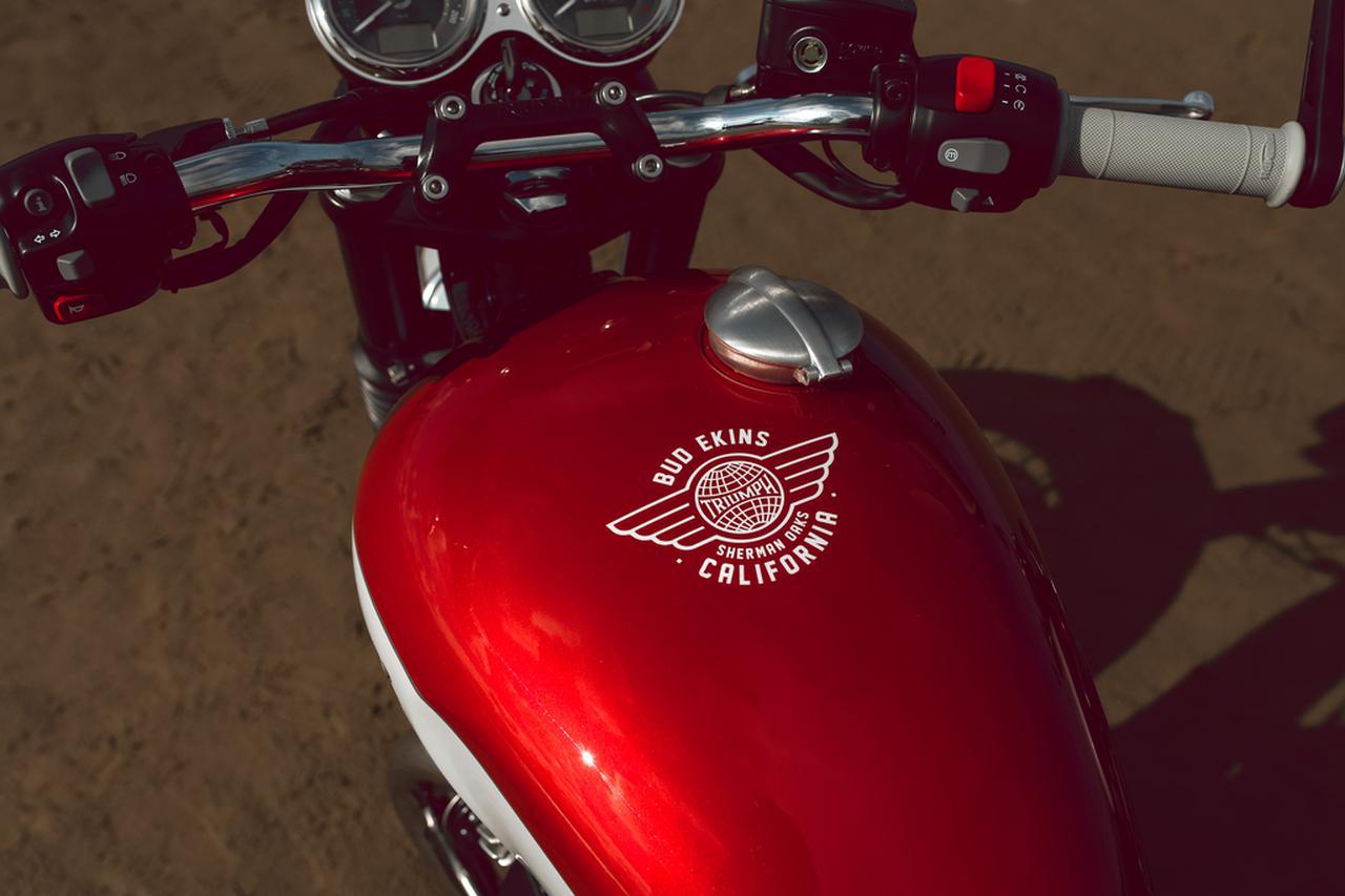 Images : 11番目の画像 - 「Bud Ekins Bonneville T100」の写真をもっと見る! - webオートバイ