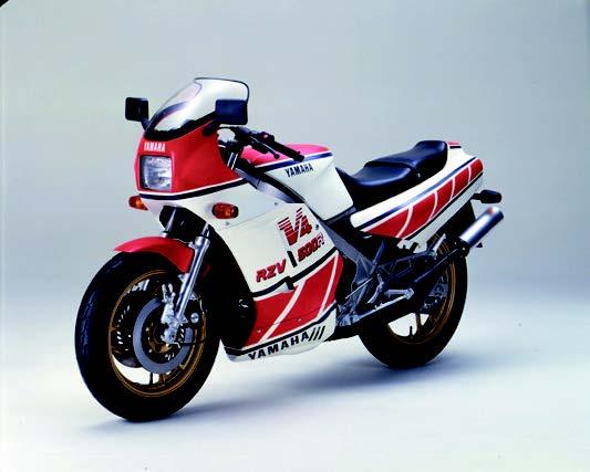 Images : ヤマハ RZV500R 1984 年 5月