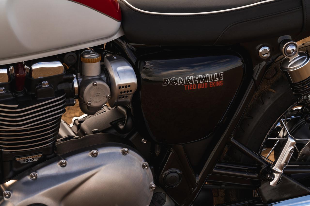 Images : 13番目の画像 - 「Bud Ekins Bonneville T100」の写真をもっと見る! - webオートバイ